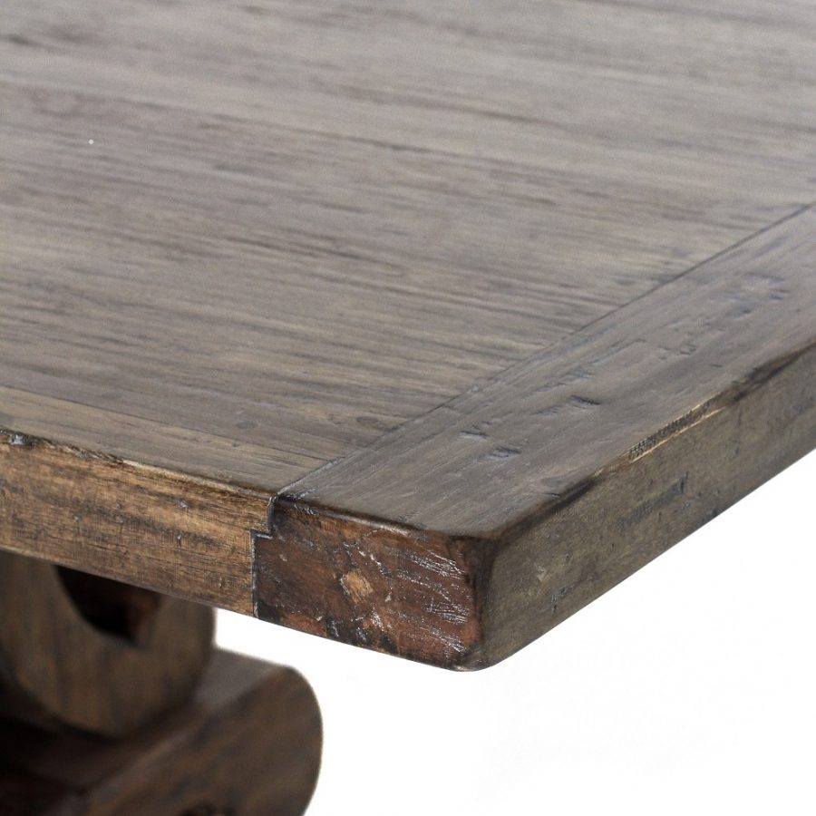 European Extension Table in Driftwood