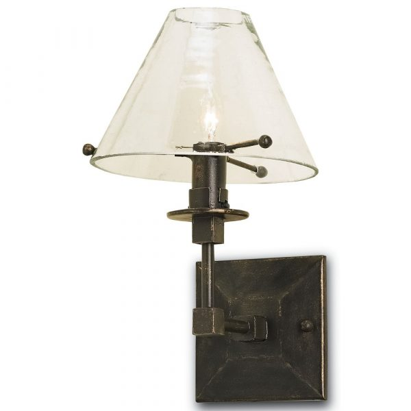 Kiran Bronze Wall Sconce