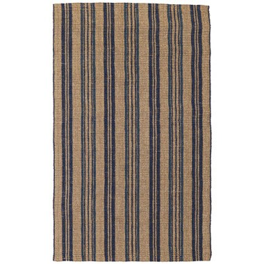 Simion Cabana Stripe Navy Rug