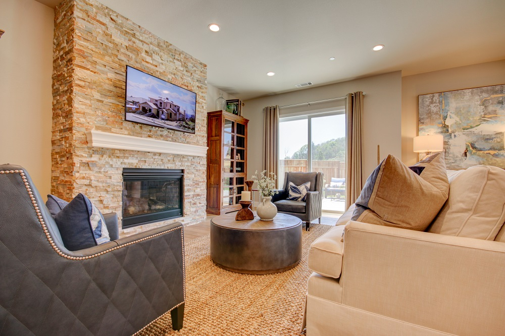 Christopherson Builders Model Home, Great Room 2