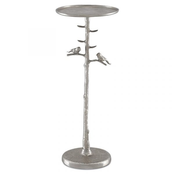 Pyli Silver Drinks Table