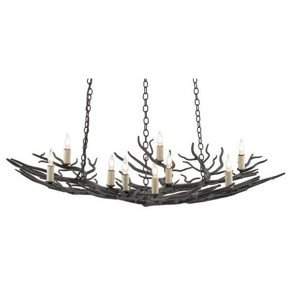 Rainforest Bronze Small Chandelier