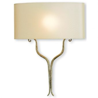 Winchester Silver Wall Sconce