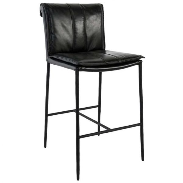 Myer Stool in Black - SB