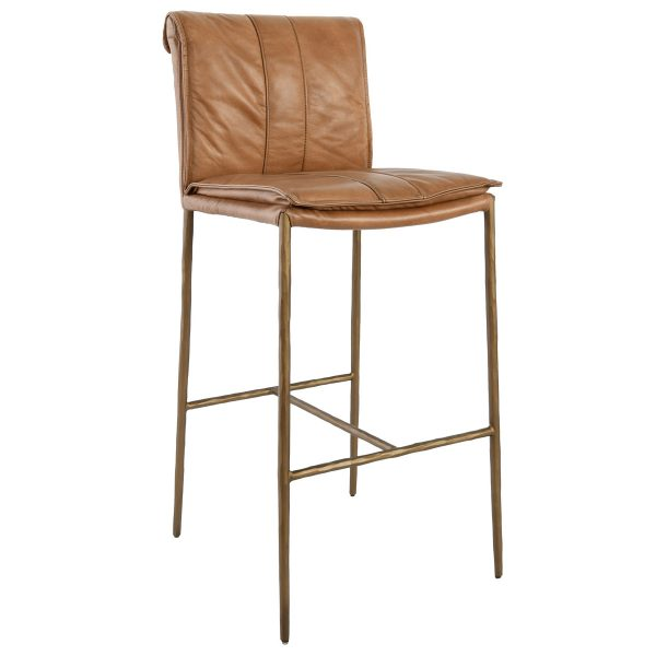 Myer Bar Stool Tan