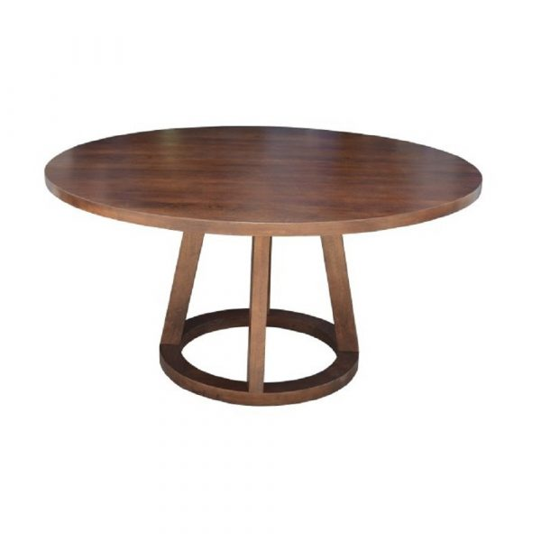 """Woodside Round Dining Table 60"""" - AS IS"""