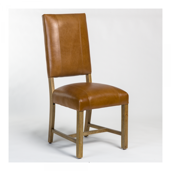 Brain Leather Chair Tabaco