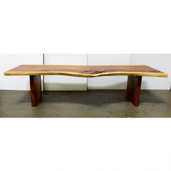Live Edge Dining Table 120""