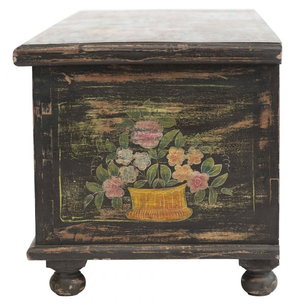 Hand Painted Trunk