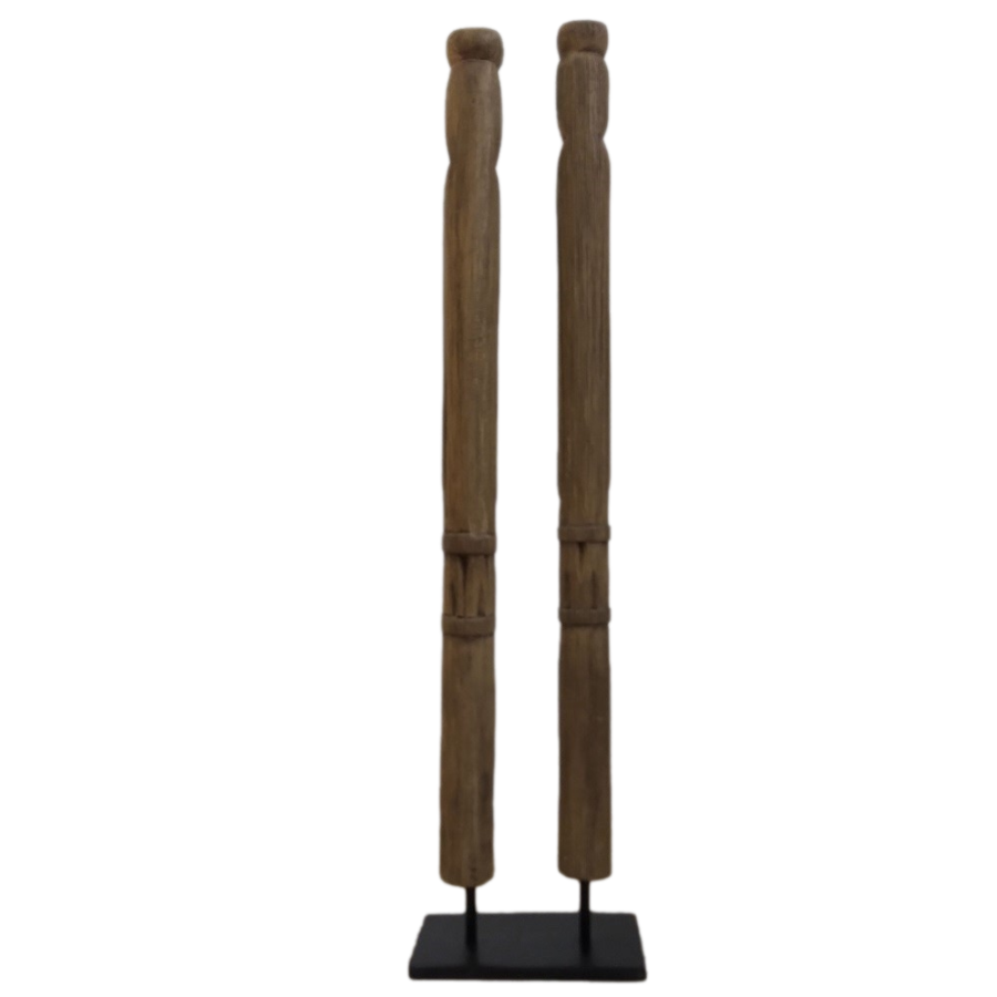 Primitive Statues On Stand