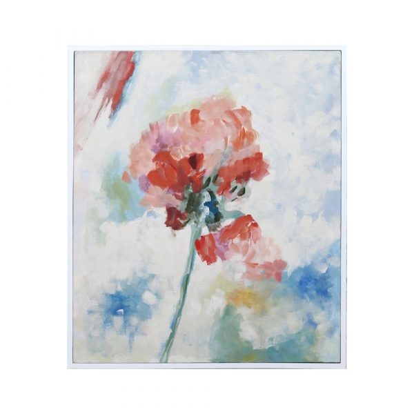 Hand Painted Floral Painting
