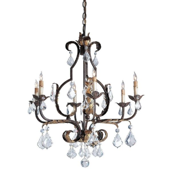 Tuscan Large Chandelier