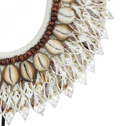 Banjinj Necklace on Stand Detail