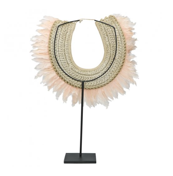 Wolona Necklace on Stand- Back