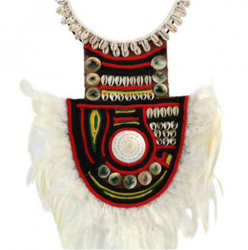 Yali Necklace on Stand Detail