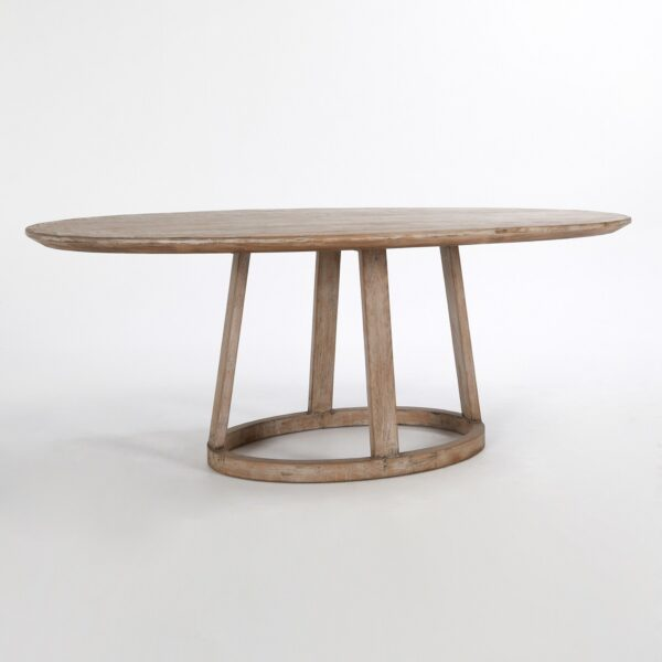 """Oliver 78"""" Oval Dining Table"""