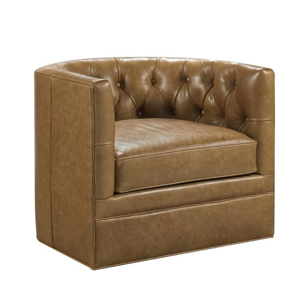 August Swivel Accent Chair