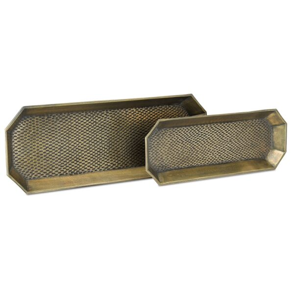Robah Brass Tray