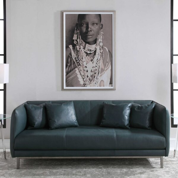 """""""Strong Woman"""" Framed Print"""